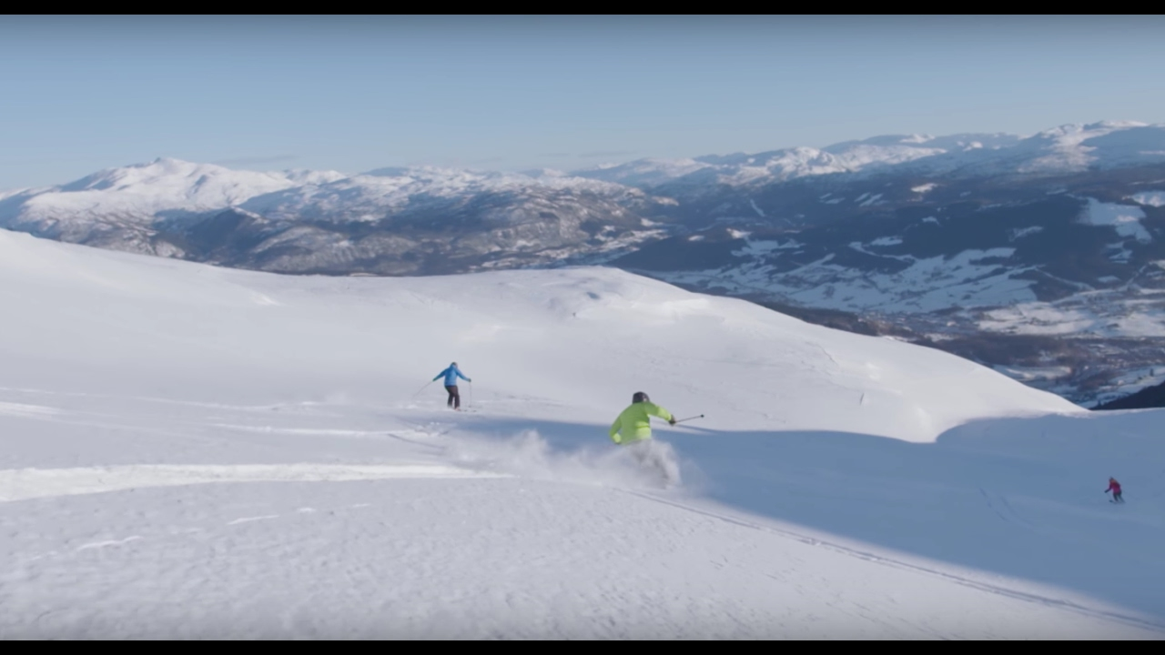 welcome to voss resort - the best ski terrain in norway - youtube
