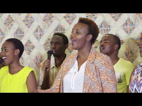 Worship Team Precious Stone 's rehearsal @ Women Foundation Ministries #Rwanda