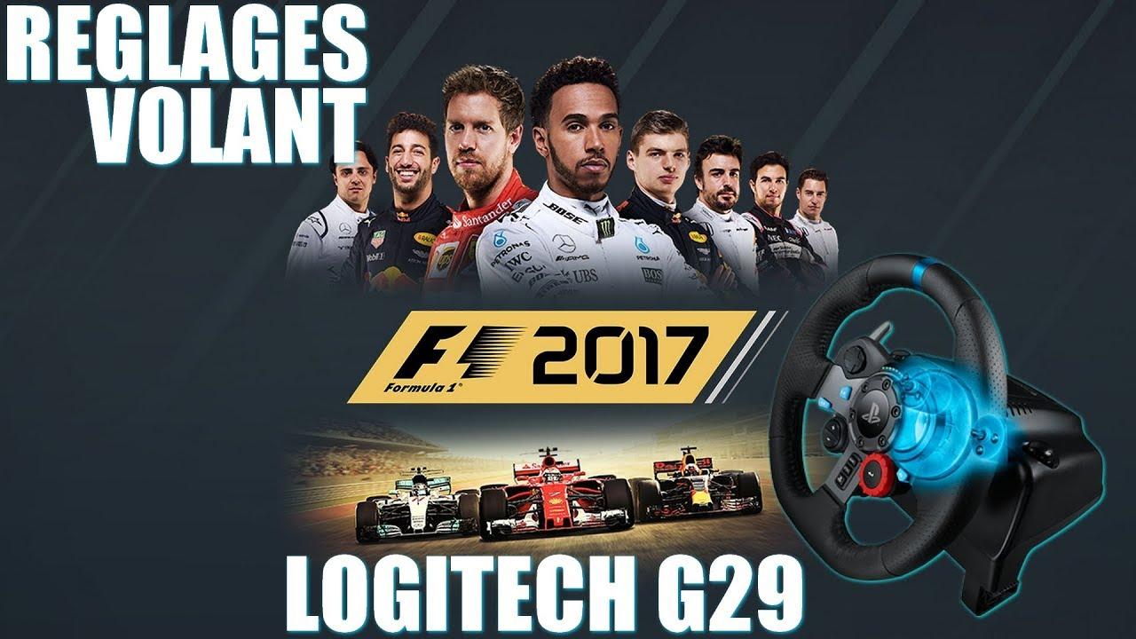 f1 2017 mes r glages logitech g29 gameplay fr pc youtube. Black Bedroom Furniture Sets. Home Design Ideas