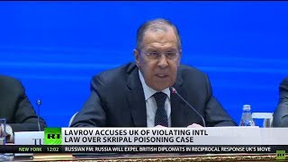 Lavrov accuses UK of violating law, Moscow opens case into the poisoning of Skripal's daughter