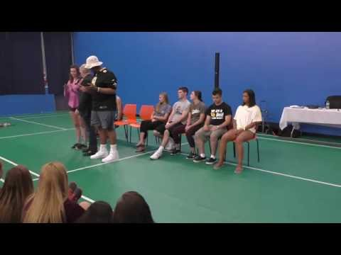 Brian Powers High School Stage Hypnosis Show