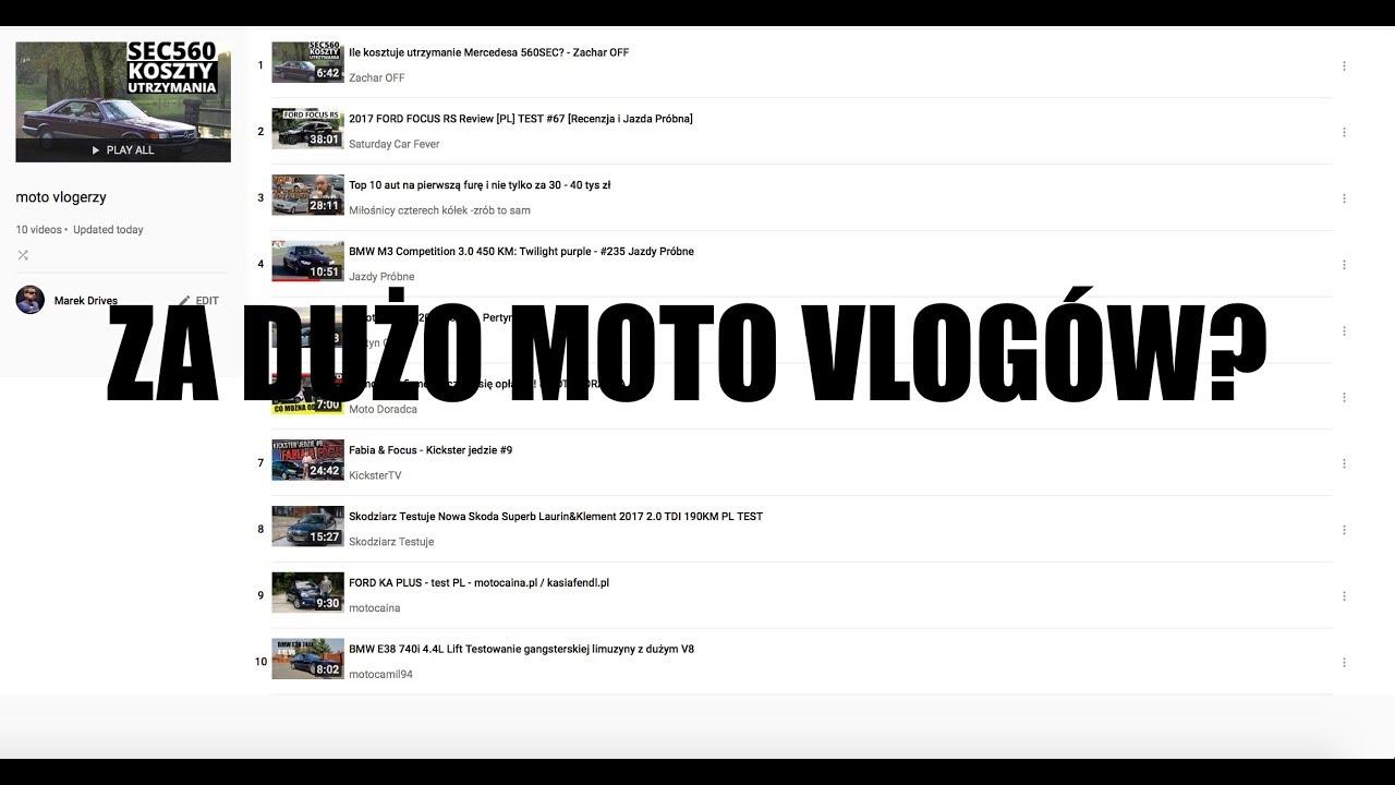 Q&A #3 (PL) – za dużo moto vlogów?
