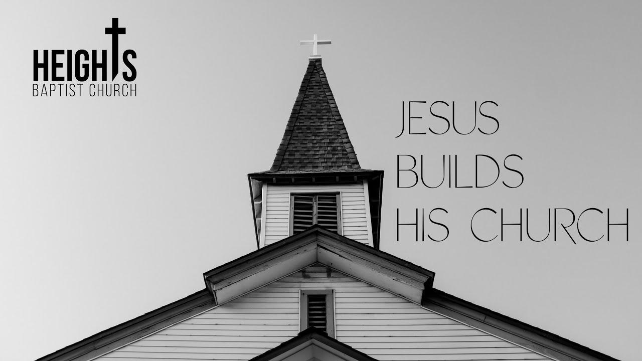 Jesus Builds His Church (06/28/2020 Sunday morning live stream)