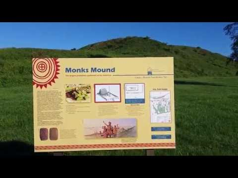 Cahokia Monks Mound Bottom - August 21, 2016 - Travels with Phil