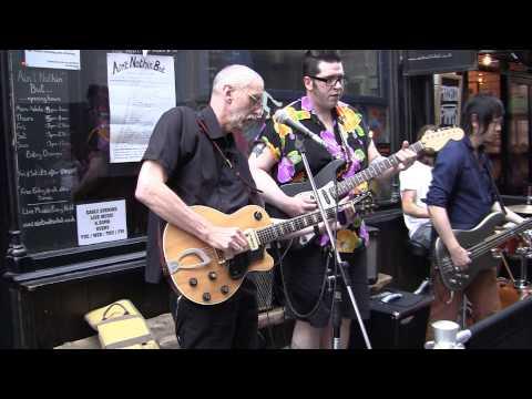 Barry Jackson Sunday Blues Jam outside Ain't Nothin' But' 21072013