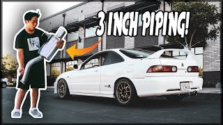 THE BEST EXHAUST FOR INTEGRA DC2 (GReddy Supreme SP Catback)