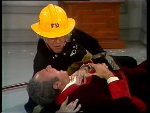 Tim Conway Cracks Up Harvey Korman in the Fireman sketch