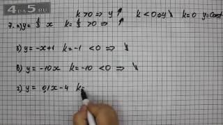 Итоговое повторение 7. Алгебра 7 класс Мордкович А.Г.