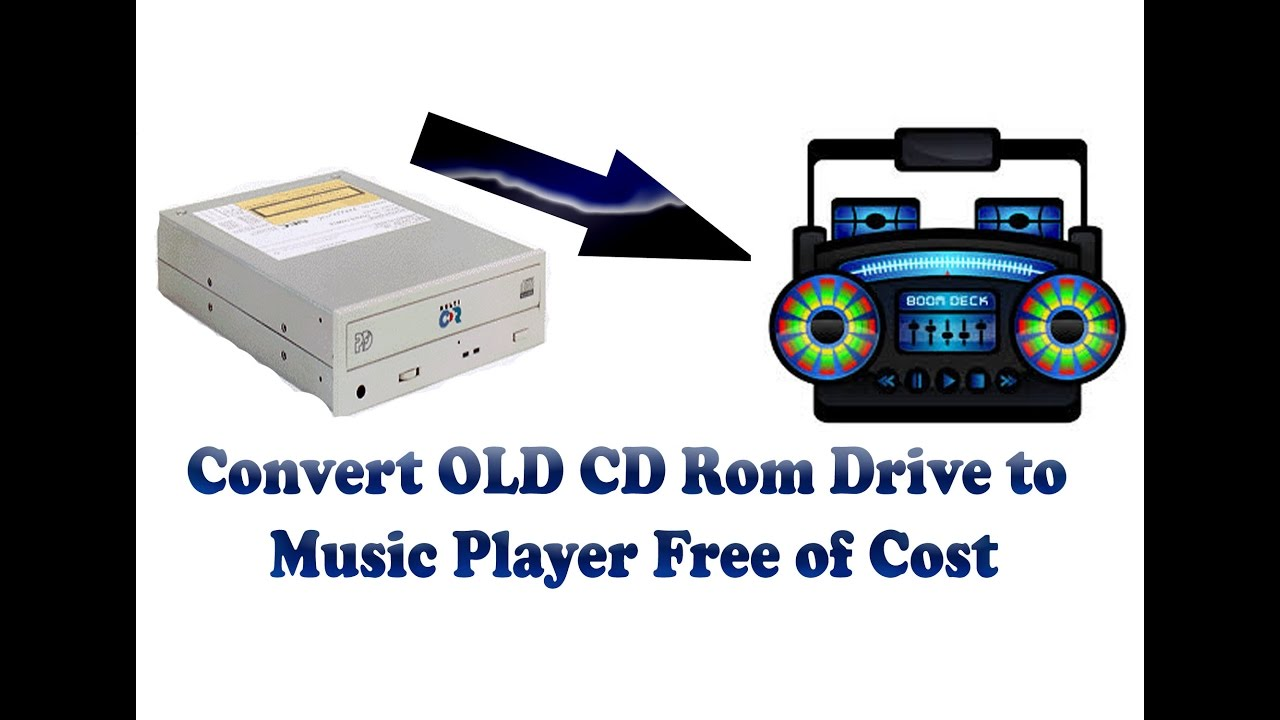 Hacked Convert Old Cd Rom Drive To Music Player Youtube