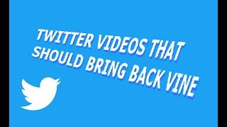 short twitter videos that should bring back vine thumbnail