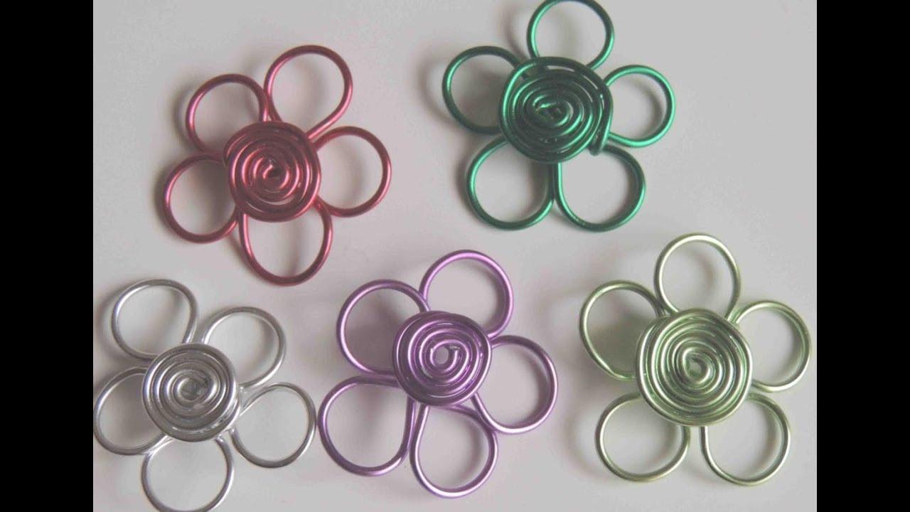 Diy como hacer una flor con alambre flower wire youtube - Www como hacer flores com ...