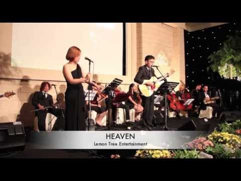Heaven - Bryan Adams cover by Lemon Tree Entertainment ft Rendy Pandugo at Marriot