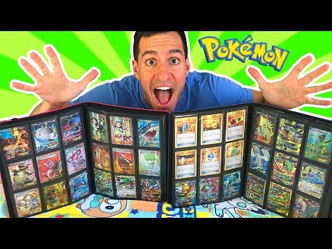 I WAS SENT AN ENTIRE POKEMON CARDS COLLECTION! (rare Ex Cards)