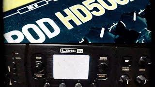 Line 6 POD HD Pro vs Line 6 POD HD500x (+ Download Presets)