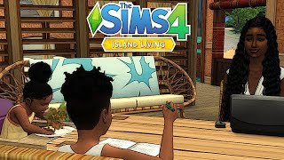 🌴🌊The Sims 4: Island Living EARLY ACCESS | PARADISE | Create-A-Family