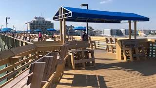 Myrtle Beach Pier Fishing 2018! Jigging Up Spanish Mackerel!