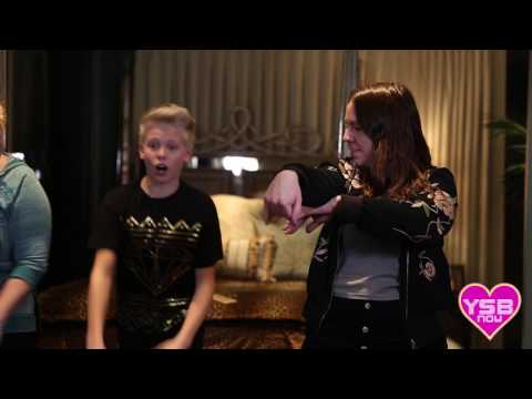 Carson Lueders' Dance Tutorial