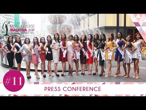 The Next Miss Universe Malaysia 2018 | Top 18 Finalists Press Conference