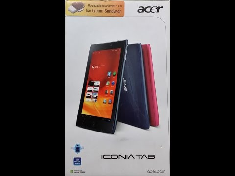 Hard resed a una Acer Iconia Tab A100