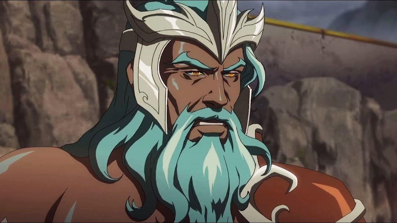 Download Poseidon - All Scenes Powers | Blood of Zeus