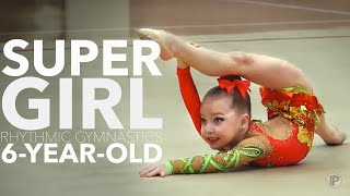 Художественная гимнастика Дети Миронченкова Таня Зажигательное выступление