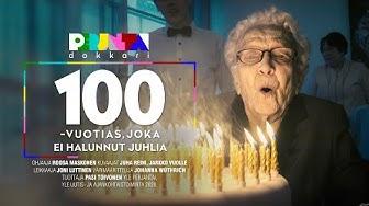 Perjantai-dokkari: 100-vuotias Anna ajaa itse autolla kauppaan ja ärsyyntyy vahtivista hoitajista