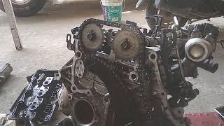 Hyundai C R D I chain timing // डीजल इंजन