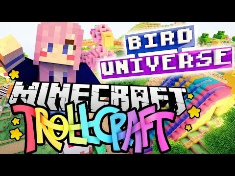 Bird Universe Theme Park | Minecraft TrollCraft | Ep. 14