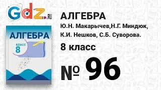 № 96- Алгебра 8 класс Макарычев