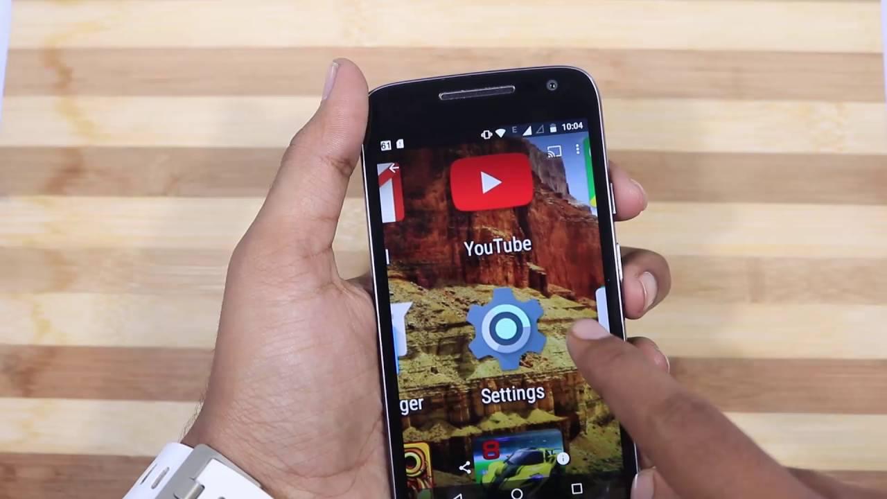 How To Take Screenshots On Moto G4 Play