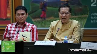 Mekong Tourism Forum 2018 ฯพณฯ วีระศักดิ์ โควสุรัตน์ รัฐมนตรีว่าการกระทรวงการท่องเที่ยวและกีฬา