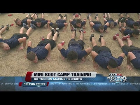 Tucson Marine recruits prep for boot camp
