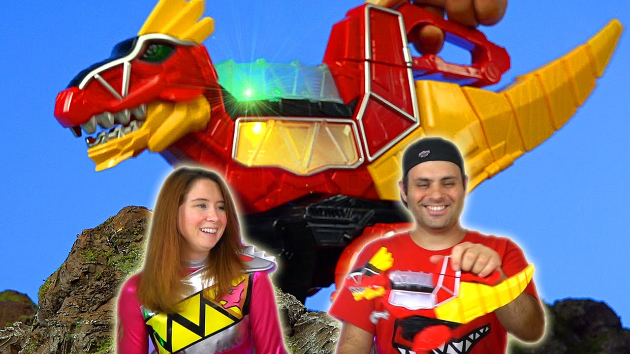Rumble N Roar T Rex Zord Review Power Rangers Dino