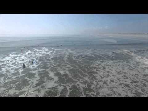 Surf Camp - July 8, 2015: St. Augustine Beach, Florida