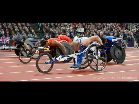 Athletics - Men's 100m - T54 Final - London 2012 Paralympic Games