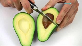 Как порезать авокадо.