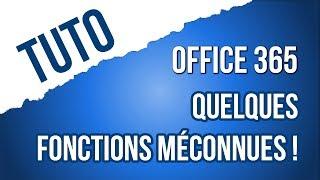 [TUTO] 6 fonctions méconnues d'office 365