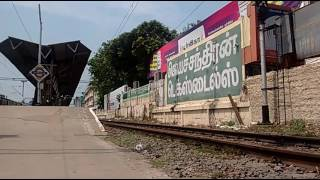 Vaigai Express Blasts through Mambalam