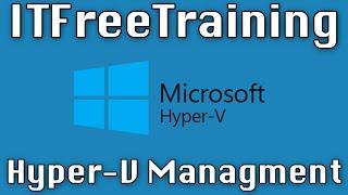 Gambar cover Hyper-V Management