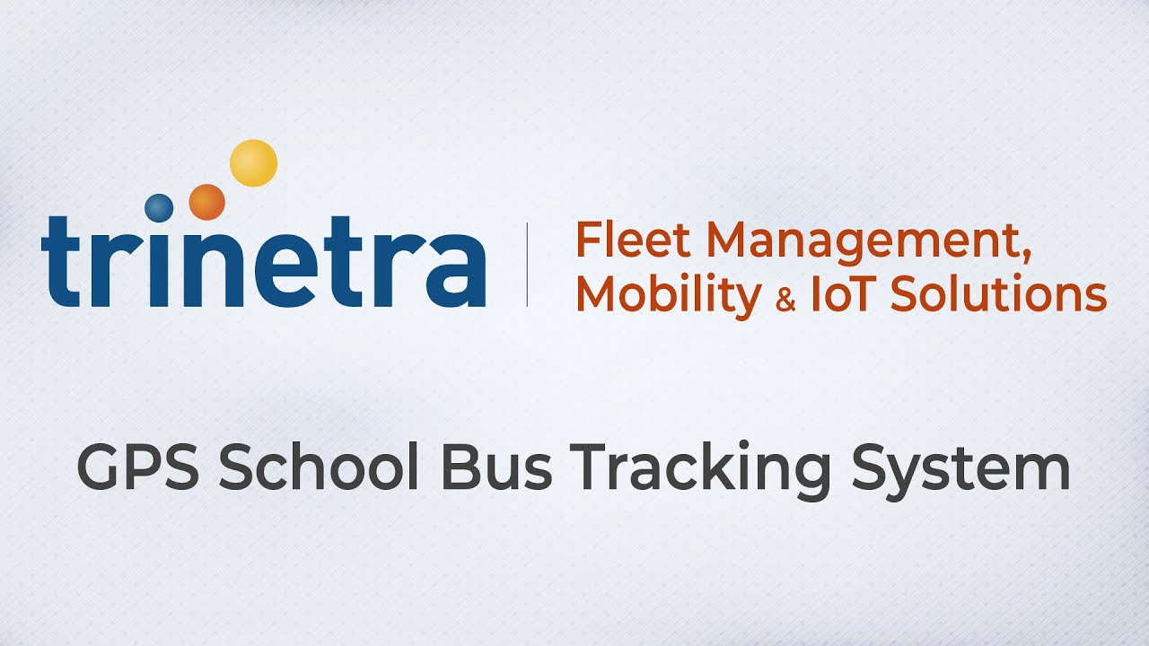Gps School Bus Tracking System Fleet Management
