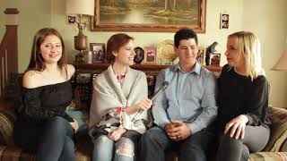 The Connor Kids Join Paste on the Roseanne Couch to Talk About ABC's Revival