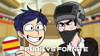 PUBG vs FORTNITE [Parodia Español]