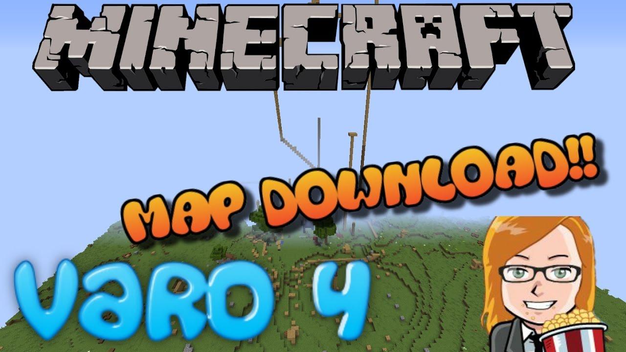 Minecraft: VARO 4 Map Download!   [Deutsch/German] HD+ - YouTube