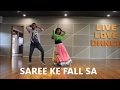 SAREE KE FALL SA# EASY WEDDING COUPLE DANCE# BOLLYWOOD# SHADI # RITU'S DANCE STUDIO SURAT.