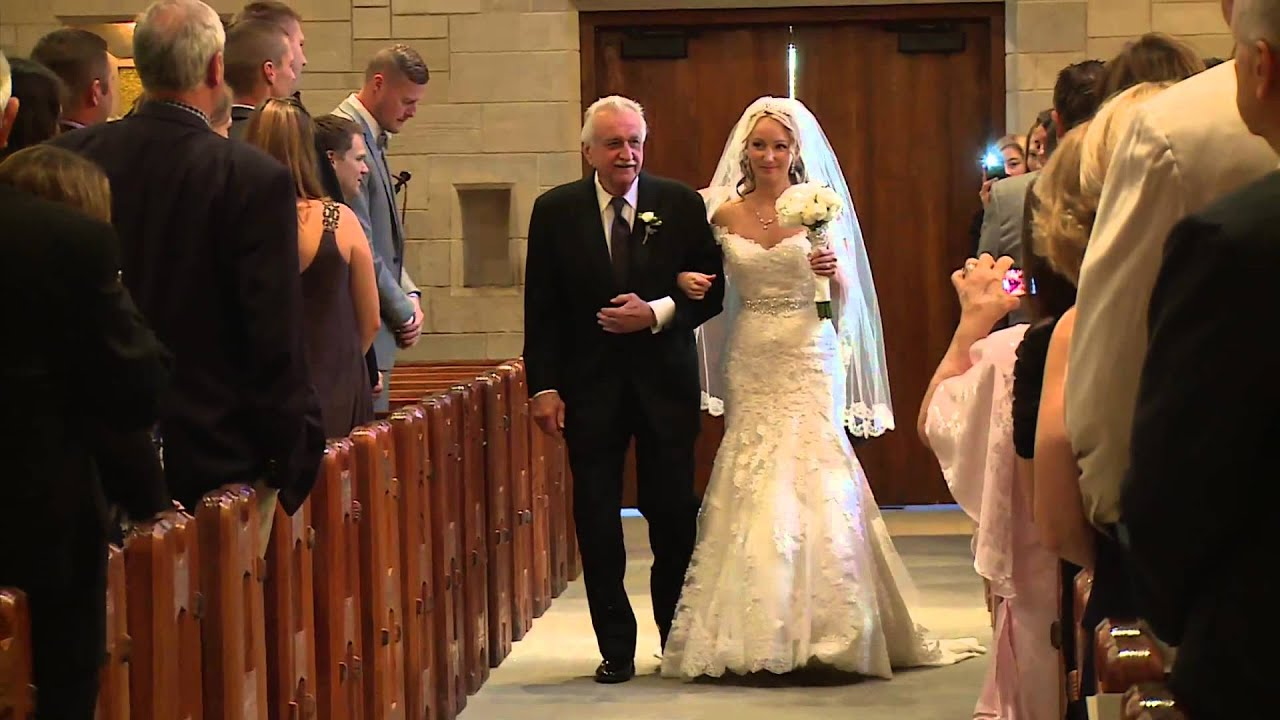 Walking Down The Aisle To Bagpipes- Highland Cathedral