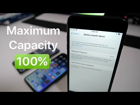 iPhone Maximum Battery Capacity - What You Should Know