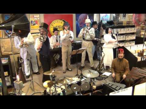 New Orleans Steamcog Orchestra @ Louisiana Music Factory 2016