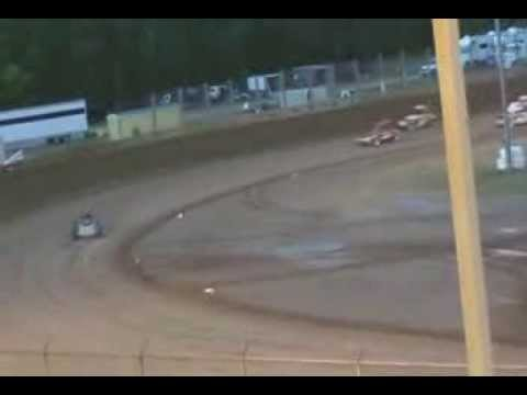 2013 Line-up & First Heat Race at Manitowoc with the Milwaukee Stock Car Racing Association