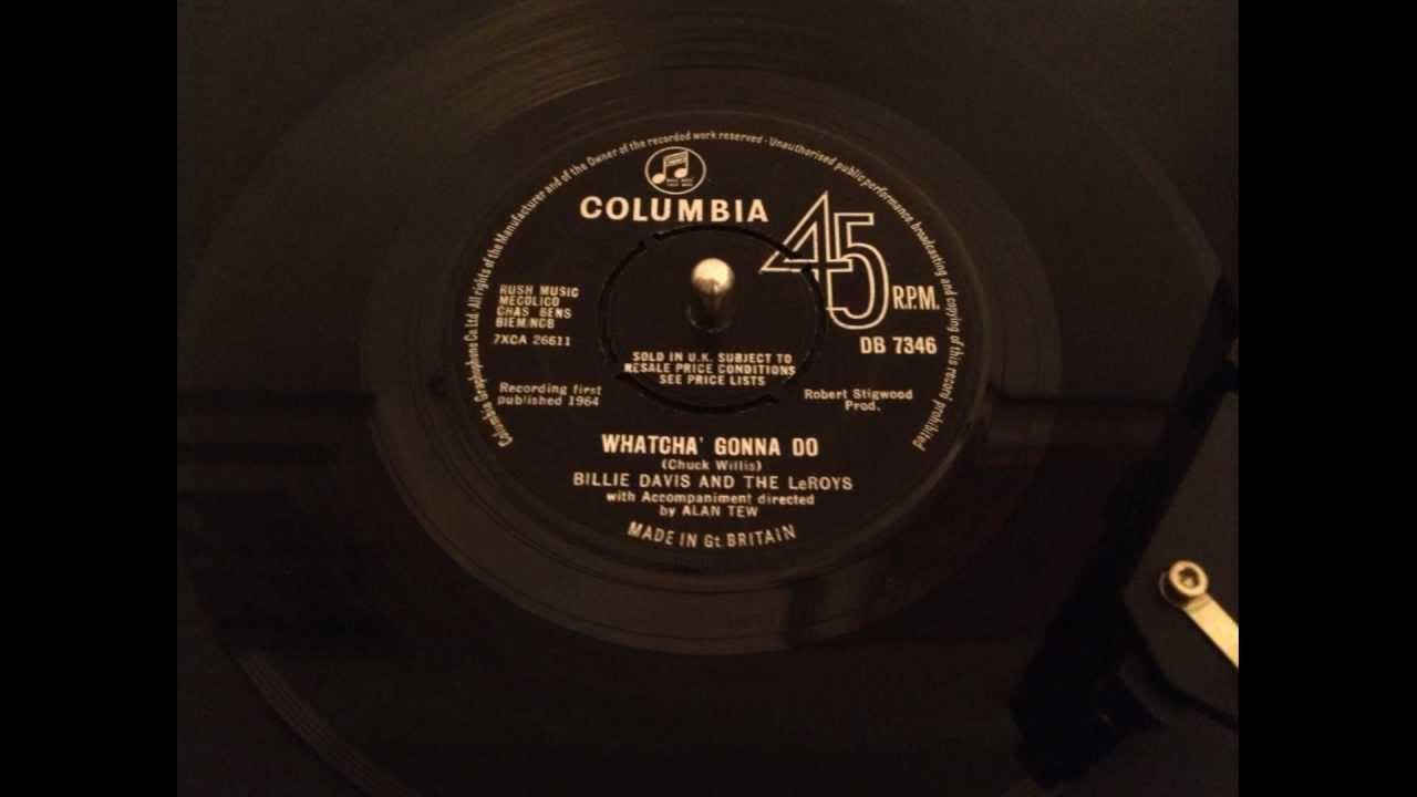 billie davis and the leroys whatcha gonna do columbia db  billie davis and the leroys whatcha gonna do columbia db 7346 1964
