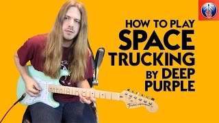 Download Deep Purple Space Truckin' Lesson - How to Play Space Truckin' by Deep Purple MP3 song and Music Video